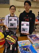 スティーブストンから熊本・大分へ 日本語プレイグループがガレージセールで支援