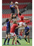 ラグビー日本代表、カナダに逆転勝利 地元日本人も多く観戦に
