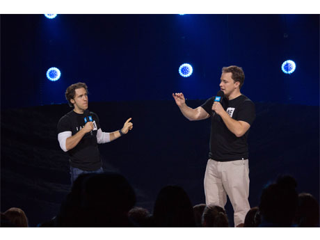 We Day 発案者のキールバーガー兄弟 (写真=Jamie Pho for WE Day)