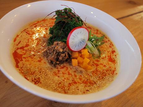 一番人気の「Organic Spicy Tan Tan Ramen」(12.99カナダドル)