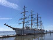 リッチモンドに「海王丸」来港 カナダ建国150周年記念イベントの一環で