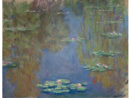 「睡蓮」 Claude Monet Nymphéas, 1916-19 oil on canvas Musée Marmottan Monet, Paris Photo:©Bridgeman Giraudon/Press