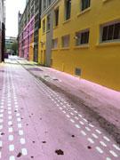 バンクーバーの名所、K-POPグループ「TWICE」MVで注目集める 「ピンクの壁」も