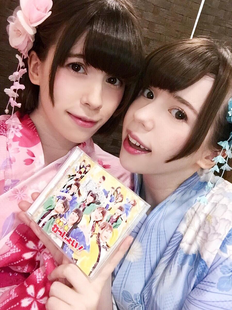 日本でCDリリースイベントに出演した際のAlly & Sally(写真提供=Ally&Sally)