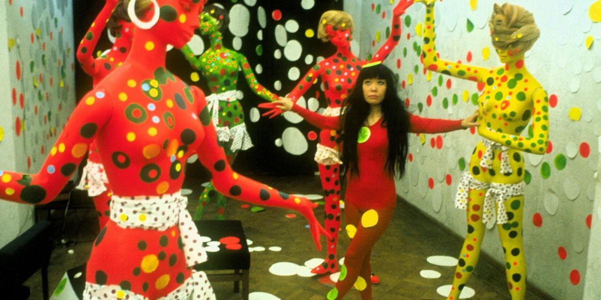 日本人アーティストの草間彌生さんを追うドキュメンタリー「Kusama: Infinity」(ヘザー・レンツ監督作品) (写真提供=VIFF)