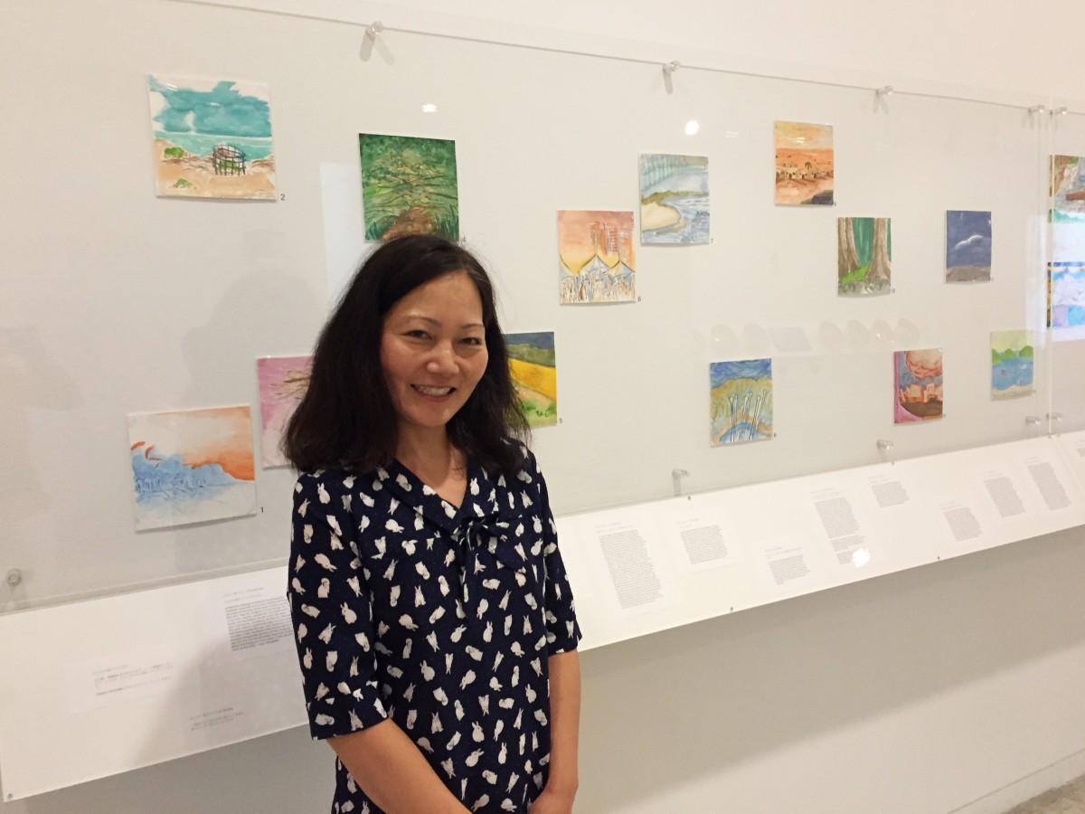 日系カナダ人アーティストのアユミ・ゴトウさん