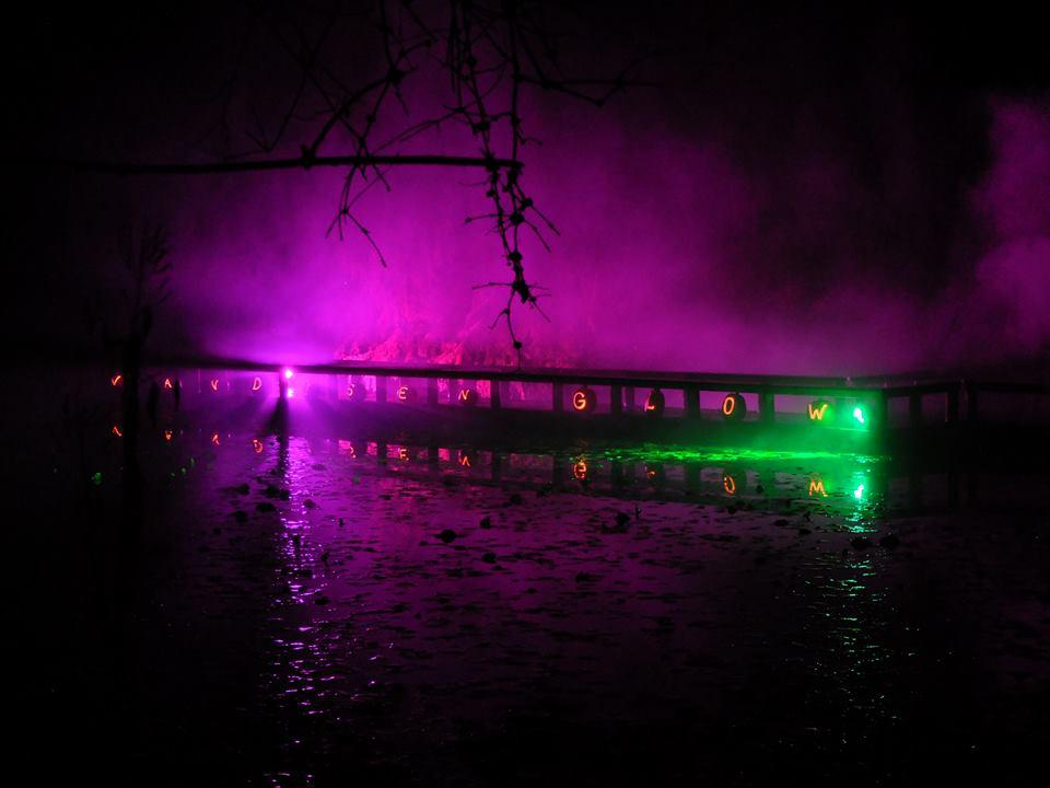 ハロウィーン特別企画「VanDusen Glow in the Garden」 (Photo=VanDusen Botanical Garden)