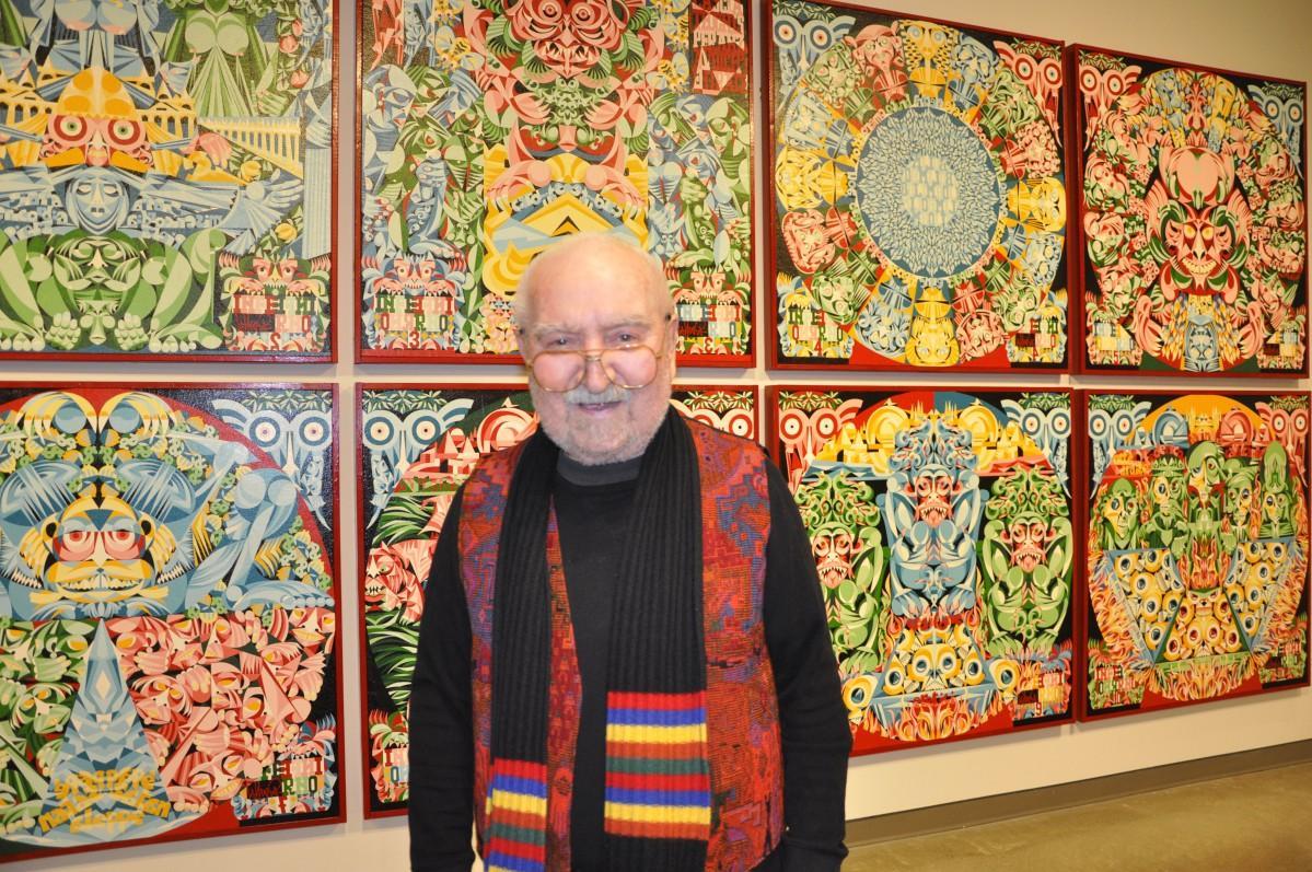 現在83歳のアーティスト、ピエール・ヴァスーラさん