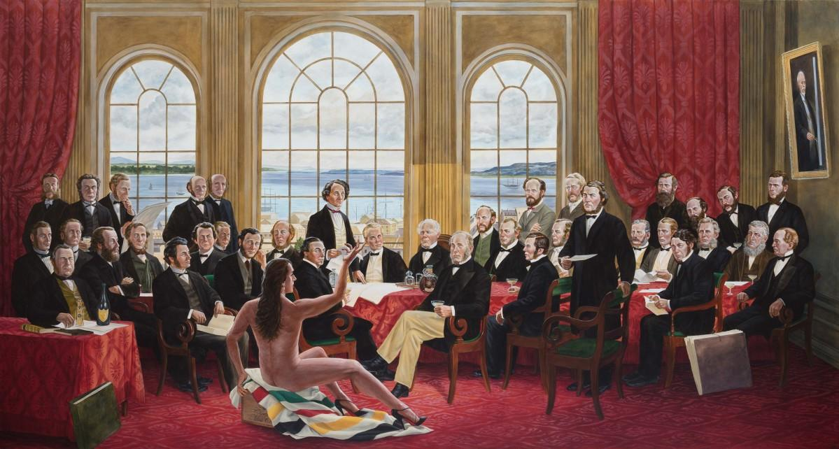 「The Daddies. By Kent Monkman, 2016」(写真提供=MOA)