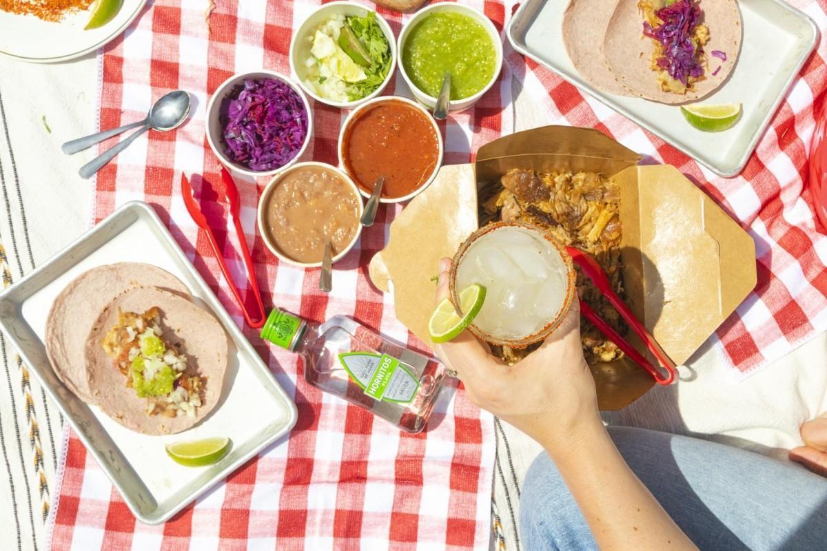 Dine Outside Vancouver参加店「Chancho」のテイクアウトメニュー(写真=SMCCommunications)