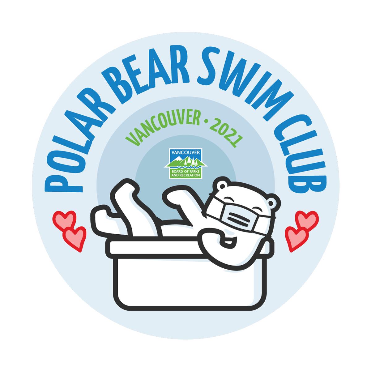 バンクーバーの新春寒中水泳、2021年はバーチャルで 各自家庭で「水浴び」呼び掛け