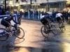 バンクーバーの観光名所、ガスタウンで自転車レース