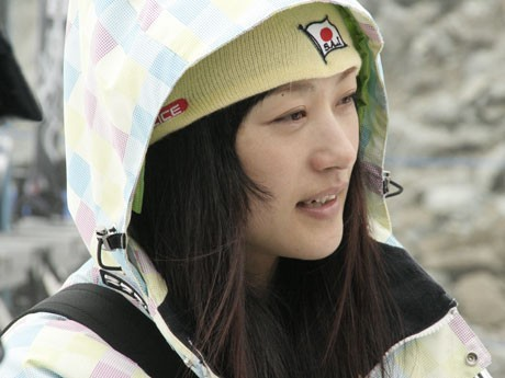 """Aiko Uemura attended a free style mogul training camp in Whistler, her """"place to recharge"""""""
