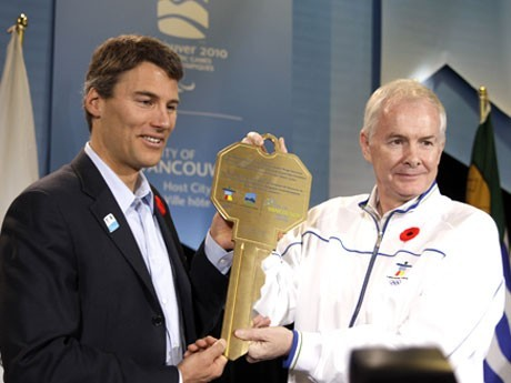 The Handover Ceremony of the Olympic Village―the 100-day