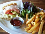 New Varieties of Japanese Restaurant in Vancouver - 'Salmon Sashimi Rice Burger' Became Popular