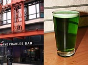 'The Charles Bar' in Gastown - 'Green Beer' Comes up on St. Patrick's Day