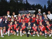 Japan Women's National Softball Team Became a Champion, Following Women's Soccer Team -7-0 Victory versus the USA
