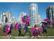 Vancouver Cherry Blossom Festival now under Way - A Variety of Events, New 'Umbrella Dance' on Stage
