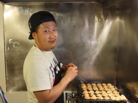 サラリーマンから転身した店主の和田さん