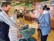 和歌山・紀の川市で桃の出荷始まる-直売所には県外からの買い物客も