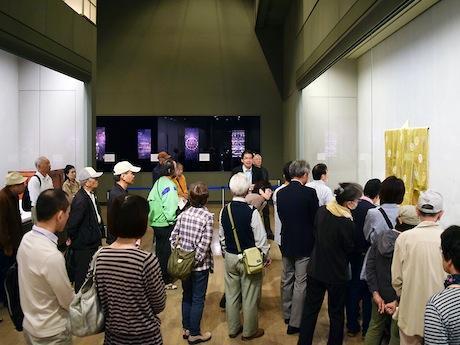 大河内学芸員によるミュージアムトーク