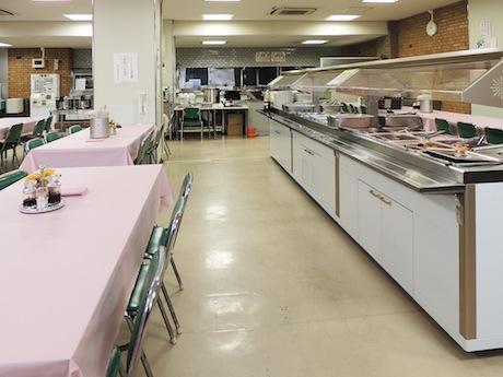 県庁北別館1階にある職員食堂