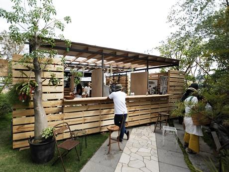 5月31日に田辺市で行われたプレイベント「Arcade in NIWA-KOBO」の様子