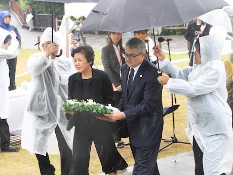 和歌山・紀伊大島の樫野崎で9月16日、トルコ軍艦エルトゥールル号追悼式典が行われた。