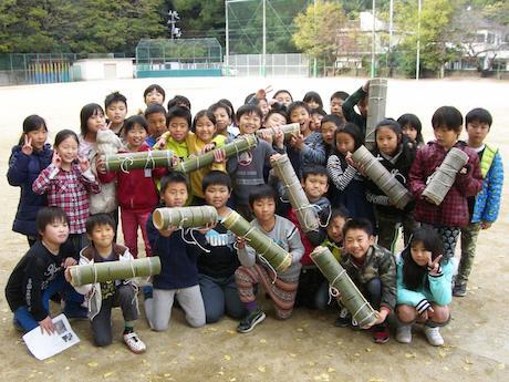 和歌浦小学校3年生の子どもたち