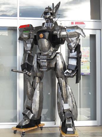 きのくにロボットフェスタで初披露したイングラム