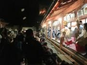 和歌浦天満宮で恒例の節分祭 トルコ人も豆まき体験