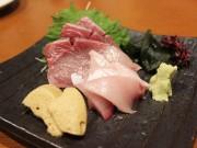和歌山・市役所近くに居酒屋「なるなる」 刺し身を「泡しょう油」で提供