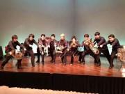 和歌の浦アート・キューブで「ブラスフェスタ」 6団体が出演