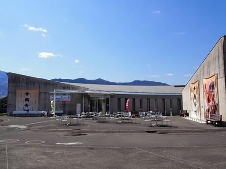道の駅「青洲の里」にあるフラワーヒルミュージアム