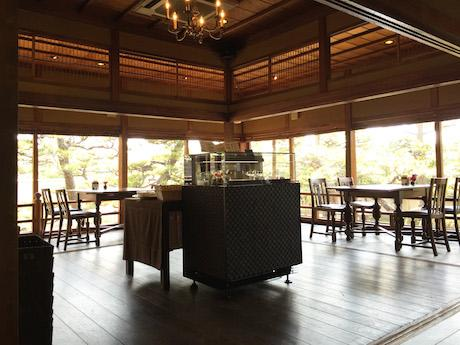 築130年の古民家を改装したカフェ