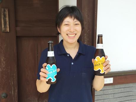 「HEIWA CRAFT」とブルワーの高木加奈子さん