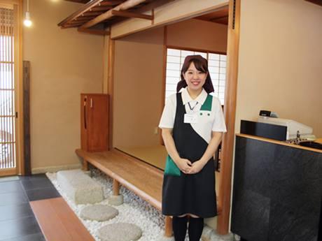 茶室としても使える「駿河町本舗」に設置された甘味処「茶寮」