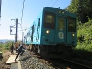 JRきのくに線で防災教育列車「鉄學」試行 地域学習と組み合わせ観光資源にも