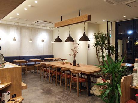 「川珈琲店」の店内