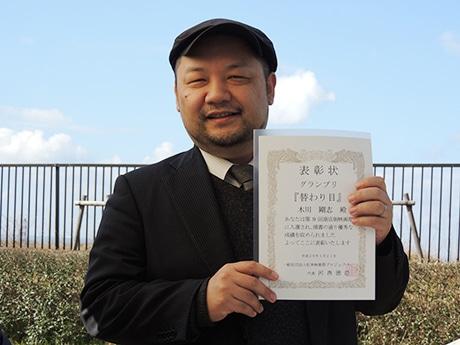 短編映画「替わり目」監督の木川剛志准教授