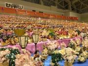和歌山・那智勝浦に巨大ひな壇 1万3000体を超えるひな人形がずらり