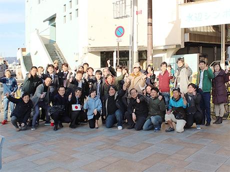 和歌山・東ぶらくり丁で「水辺シンポジウム」 SUPや遊覧船の実現に40人が団結