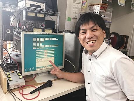 システム開発者の山口誠二さん