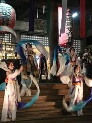和歌山・紀三井寺で恒例の「千日詣」 初の「龍宮乙姫龍灯献上行脚」も