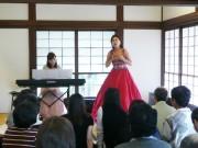 和歌山・九度山町の「紙遊苑」でコンサート 天皇が宿泊した邸宅に秋の調べ