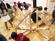和歌山で「木の国わかやま 木育キャラバン」 林業・材木業関係者が企画