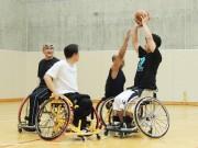 和歌山・車いすバスケットボール体験会 社会人チームとミニゲームも