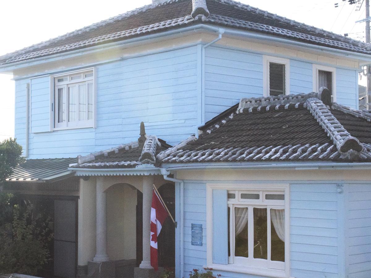 カナダ風住宅を改修したカナダミュージアム