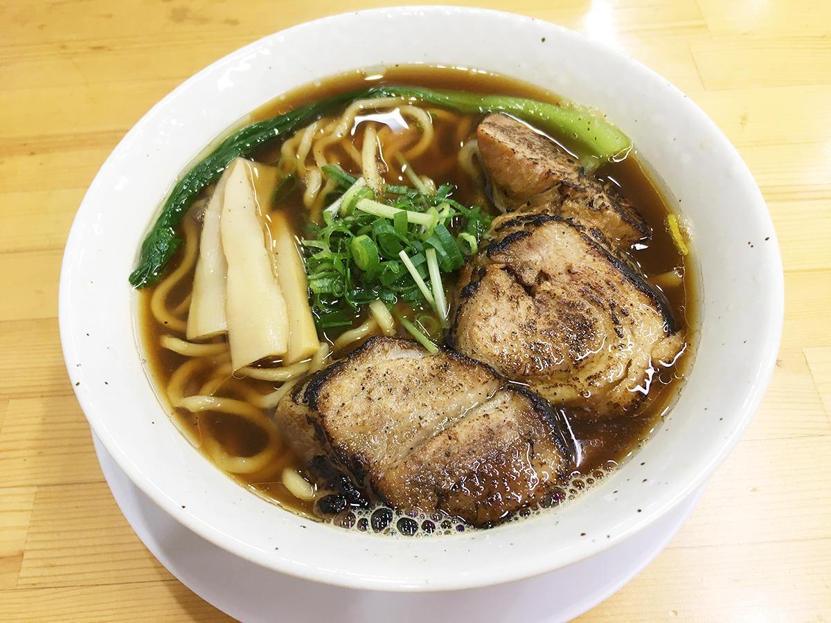 「汁アリ炙(あぶ)りチャーシュー麺」