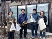 和歌山・有田川町で「美男子が持ち帰った」伝統工芸「保田紙」の原料収穫始まる